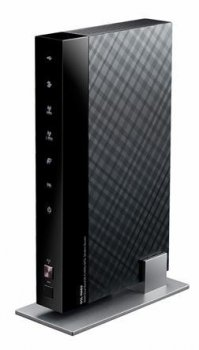 Маршрутизатор ASUS <DSL-N66U> Wireless N900 ADSL Dual-Band Router (RTL) (802.11a/b/g/n,4UTP 10/100/1000 Mbps,2WAN,450Mbps,2xUSB)
