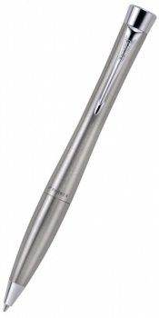 Ручка шариковая Parker S0767120 Urban K200 Metro Metallic Mblue