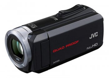"Видеокамера JVC GZ-R15 black 1CMOS 60x IS opt 3"" Touch LCD 1080p SDHC Flash WPr KPr Quad Proof"