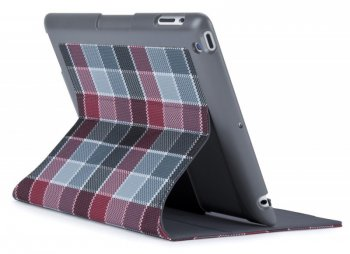 Чехол Speck для iPad 2/3/4 FitFolio halftone plaid grey/red (SPK-A1222)