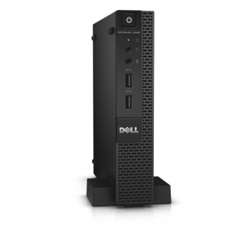 Системный блок Dell Optiplex 3020 Micro P G3240T/4Gb/500Gb/HDG/Win 7 Pro 64/клавиатура/мышь/Web