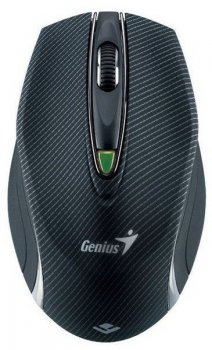 Мышь беспроводная Genius Traveler 9010LS black laser wireless (1600dpi) 5but