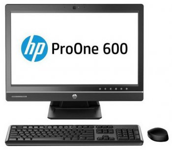 "Моноблок HP ProOne 600 21.5"" IPS i3 4130/4Gb/500Gb 7.2k/DVDRW/MCR/W8Pro64dng/250cd/1000:1/Web/клавиатура/мышь /USB3.0/Displayport"