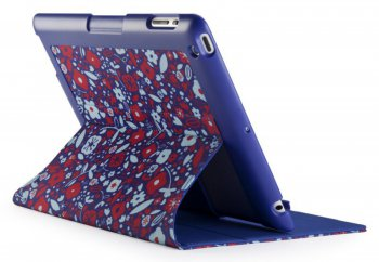 Чехол для iPad New FitFolio BitsyFloral Blue/Red