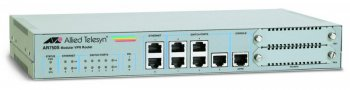 Маршрутизатор Allied Telesis (AT-AR750S-61) Secure VPN,7x10/100 LAN/WAN,1x Async,Single AC PSU