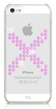 Чехол White Diamonds для iPhone5 X Series Pink пластик Swarovski (WD-1210XIC41)