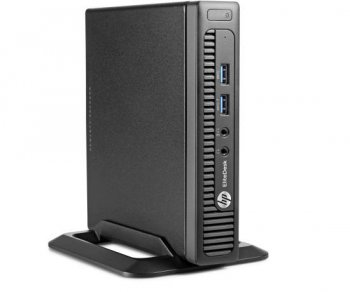 Системный блок Мини HP EliteDesk 800 i3 4130T/4Gb/500Gb/Win 8.1 Pro 64 down to Win 7 Pro 64/клавиатура/мышь