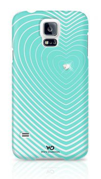 Чехол White Diamonds для Galaxy S 5 Heartbeat Mint (2410HBT53)