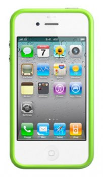 Чехол для Apple iPhone 4 MC671ZM/A Зеленый