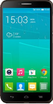 Смартфон Alcatel OT6037Y IDOL 2 (Black+Chocolate)
