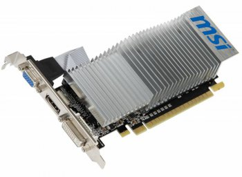 Видеокарта MSI PCI-E nVidia GeForce 210 GeForce 210 512 Мб 64bit DDR3 589/500/HDMIx1/CRTx1/HDCP Bulk