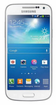 "Смартфон Samsung Galaxy S4 mini Duos GT-I9192 белый моноблок 3G 2Sim 4.27"" 540x960 Android 4.2 8Mpix WiFi BT GPS GSM900/1800 GSM1900 TouchSc MP3 8Gb m"