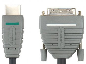 Кабель HDMI Bandridge BVL1101 HDMI/DVI-D (1м)