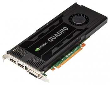 Видеокарта NVIDIA Quadro K4000 3GB Graphics