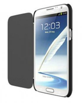Чехол Tech21 для Samsung Galaxy NoteII Impact Snap with Cover black (T21-2106)