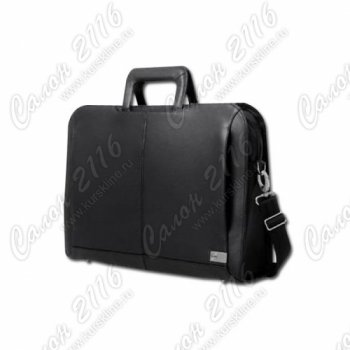 "Сумка для ноутбука Dell Executive Leather Cary Case black for 16"" laptops"