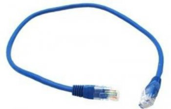 Кабель UTP Belsis BW1485 Patch Cord UTP 5 level длина 0.5 м, синий