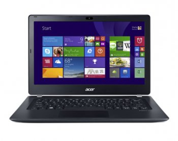 "Ноутбук Acer Aspire V3-371-55VZ Core i5 5200U/6Gb/500Gb/SSD8Gb/Intel HD Graphics 5500/13.3""/HD (1366x768)/Windows 8.1 Single Language 64/grey/WiFi/B"