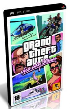 Игра для Sony PlayStation Игра Sony PlayStation Portable Grand Theft Auto: Vice City Stories (Platinum) rus (10599)