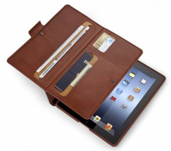 Чехол Speck для iPad New WanderFolio Luxe cognac/cream leather
