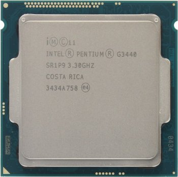 Процессор Intel Pentium G3440 BOX 3.3 GHz/2core/SVGA HD Graphics/0.5+3Mb/53W/5GT/s LGA1150