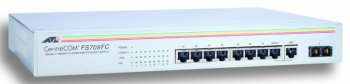 Коммутатор Allied Telesis (AT-FS709FC-50) 8-портов 10/100BASE-T Unmanaged with one Fiber UL Port