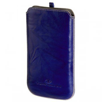 Чехол Tom Tailor Crumpled Colors H-115819 blue/white для iPhone 4/4S/HTS Rhyme/Mozart