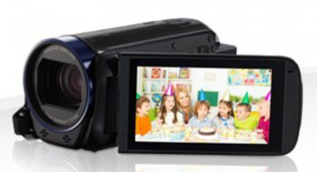 "Видеокамера Canon LEGRIA HF R66 черный 32x IS opt 3"" Touch LCD 1080p 8 XQD Flash/WiFi"