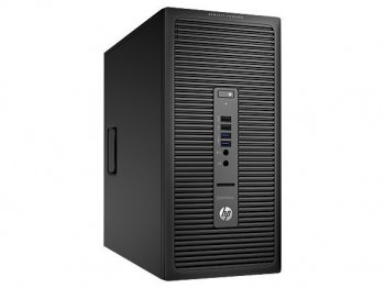 Системный блок HP EliteDesk 705 G1 MT A8 6500B/4Gb/500Gb/DVDRW/Windows 8 Professional 64/клавиатура/мышь