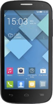 Смартфон Alcatel OT5036D POP C5 (2SIM) (Bluish Black)