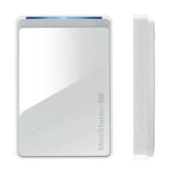 "Внешний жесткий диск Buffalo USB 3.0 500Gb HDW-PD500U3-EU MiniStation Air 2 (5400 об/мин) 2.5"" серебристый Wi-Fi 802.11 b/g/n"