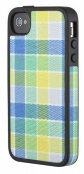 Чехол Speck для iPhone 4S FabShell HalfTone Plaid (SPK-A1054)