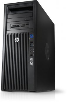 Системный блок HP Z420 Xeon E5-1650/8Gb/1Tb/DVDRW/MCR/Win 8 Prof 64 downgrade to Win 7 Prof 64/клавиатура/мышь