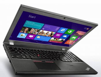 "Ноутбук Lenovo ThinkPad T550 Core i7 5600U/12Gb/SSD256Gb/Intel HD Graphics 5500 2Gb/15.6""/FHD (1920x1080)/Windows 7 Professional 64 +W8.1Pro/black/WiF"