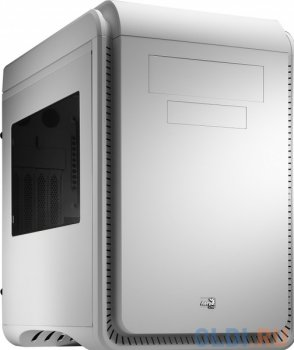 Корпус Aerocool DS Cube Window White (белый, с окном) , mATX, без БП, сталь 0.8мм, USB 3.0, вент-ры: 1х 20см и 1х12см.