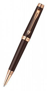 Ручка шариковая Parker Premier Soft K560 Brown PGT