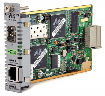 Медиаконвертер Allied Telesyn CM3K0S 10/100TX to 100FX (ST), 2km Multimode, with802.3ah Support
