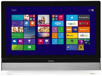"Моноблок MSI AIO AE270G-038RU AIO 27"" 1920x1080 Touch i5 4440/8Gb/1Tb/GT740M 2Gb/DVDRW/Windows 8.1/WiFi/клавиатура/мышь/Cam/черный"