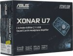 Звуковая карта ASUS Xonar U7 Echelon Edition (RTL) (Analog 1in/10out, S/PDIF out, 24Bit/192kHz, U)