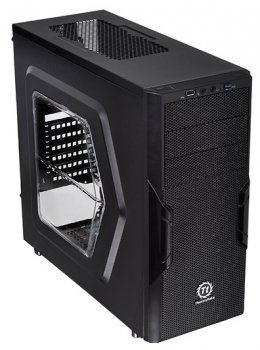 Корпус Thermaltake Versa H22 CA-1B3-00M1NN-00 черный w/o PSU ATX 2x120mm 1xUSB2.0 1xUSB3.0 audio bott PSU