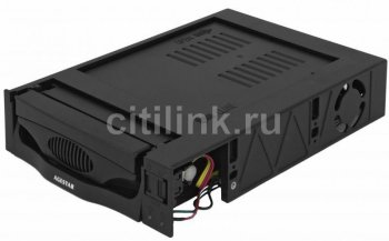 Мобильное шасси AgeStar MR3-SATA(SW)-F 1fan black