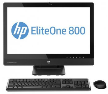 "Моноблок HP EliteOne 800 21.5"" IPS i3 4130/4Gb/500Gb 7.2k/DVDRW/MCR/W8.1Pro64dng/WiFi/250cd/1000:1/Web/клавиатура/мышь /USB 3.0/Displayport"