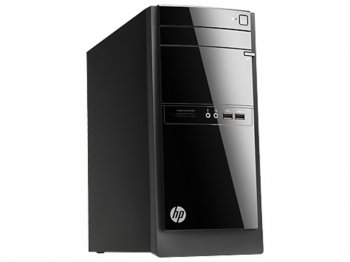 Системный блок HP Barbossa 110-360nr A6 5200(4 core)/4Gb/500GbHD8400/Windows 8.1/WiFi/клавиатура/мышь