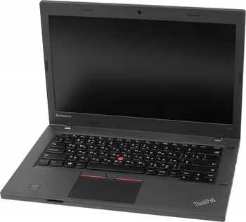 "Ноутбук Lenovo ThinkPad L450 Core i5 5200U/4Gb/500Gb/Intel HD Graphics 5500/14""/HD/Free DOS/black/WiFi/BT/Cam"