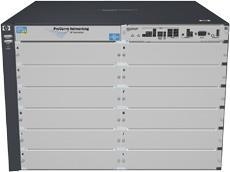 Коммутатор HP (J9643A) E5412 zl with Premium Software, 12 open module slots, HP PCM+, 758.4 Gbps