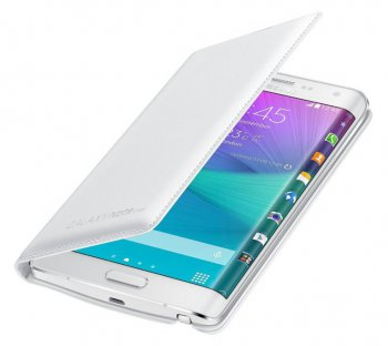 Чехол (флип-кейс) Samsung для Samsung Galaxy Note 4 Flip Wallet белый (EF-WN915BWEGRU)