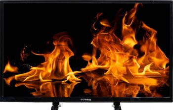 "Телевизор-LCD 32"" Supra S-LC32T500WL черный/HD READY/50Hz/DVB-T/DVB-T2/USB (RUS)"