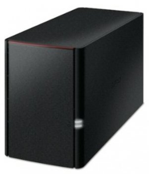 Сетевое хранилище Buffalo LinkStation 220 (LS220D0402-EU) 2x2TB/GE/Armada 800MHz/256MB RAM/Set up with Smartphones