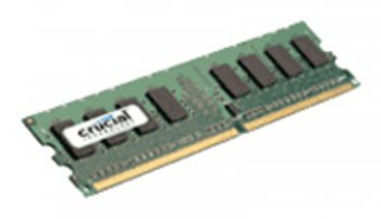 Оперативная память DDR2 1024Mb 800MHz Crucial (CT12864AA800) 1 RTL (PC2-6400) CL6 Unbuffered UDIMM 240pin