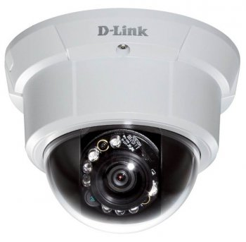 Камера видеонаблюдения D-Link (DCS-6113V/A1B) HD Day & Night Vandal-Proof Fixed Dome Network HD Camera